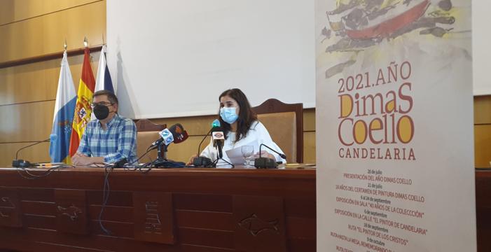 '2021. Año Dimas Coello', Candelaria honra la vida y obra del pintor con un extenso programa cultural