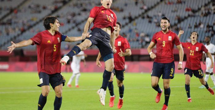 España vence a Costa de Marfil y se mete en semifinales de los JJOO (5-2)