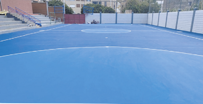 Obras realiza mejoras en una treintena de colegios del municipio en verano