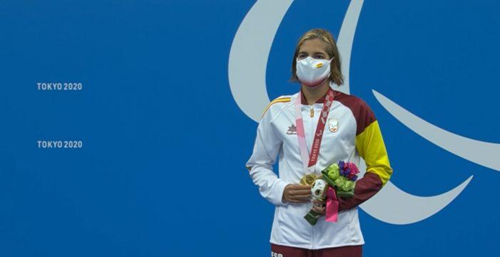 Michelle Alonso, histórica: logra el oro y el récord del mundo en los Juegos Paralímpicos