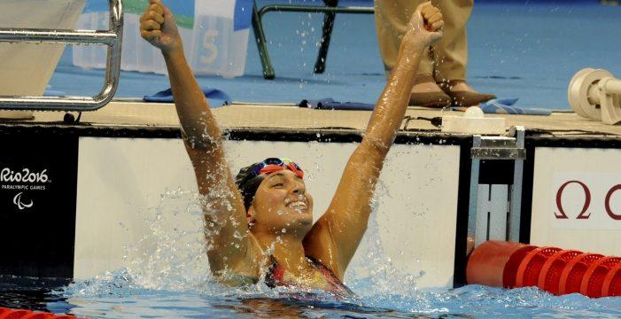 Michelle Alonso logra el mejor tiempo y luchará por el oro en los 100 braza en los Juegos