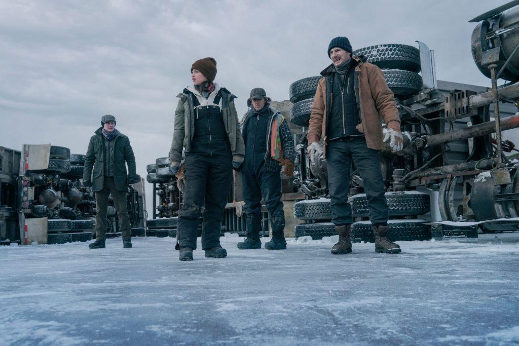 'Ice Road', un trepidante thriller protagonizado por Liam Neeson y Laurence Fishburne.