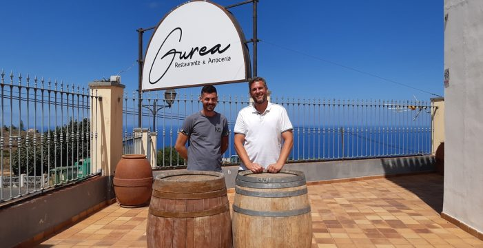 Gurea, el proyecto gastronómico de Arkaitz Soto y Javier Jiménez en El Sauzal