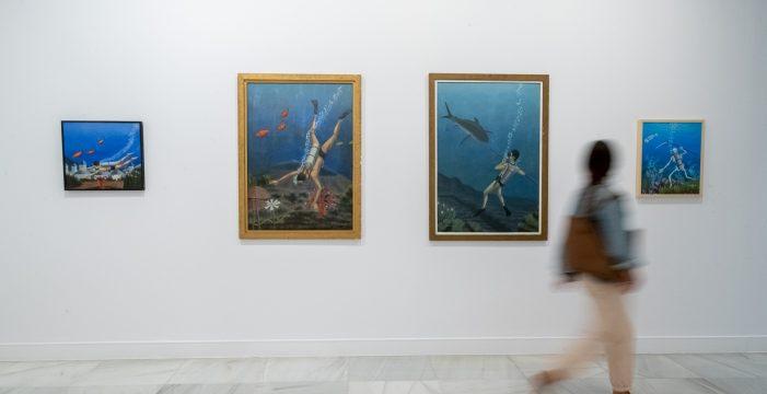 La pintura de José Martín entra en diálogo en el CAAM