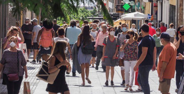 Canarias suma 93 nuevos casos y una muerte en las últimas 24 horas