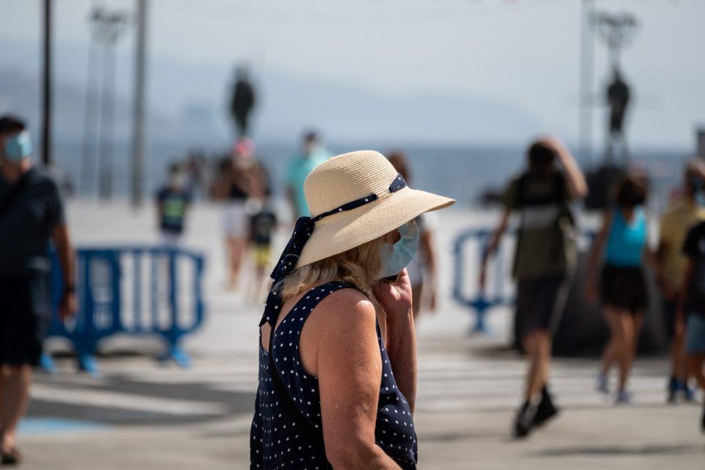 Ola de calor en Canarias. / Fran Pallero