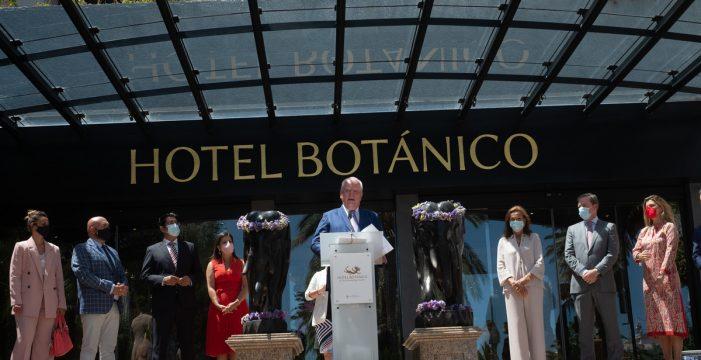 El hotel Botánico reabre al público con unas instalaciones renovadas