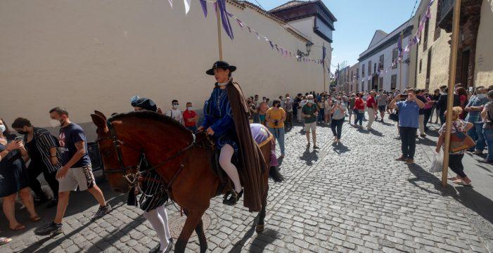 El pregón a caballo de las Fiestas del Cristo vuelve 37 años después
