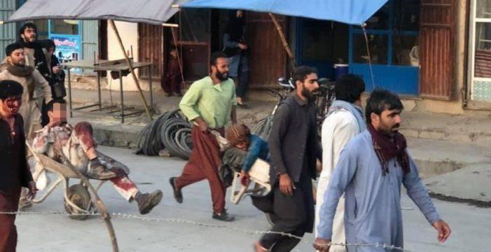 Terror en Kabul: disparos y una grave explosión con al menos 13 muertos