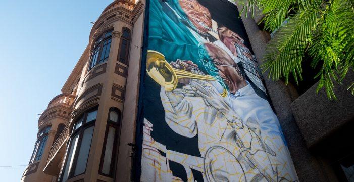 Un mural para el trompetista Nilo Caparrosa