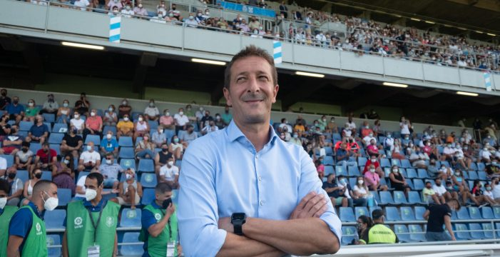 """Luis Miguel Ramis: """"El Oviedo tiene muchos recursos y nos va a exigir mucha concentración"""""""