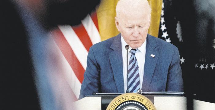 Los problemas de Biden: Afganistán, COVID y economía
