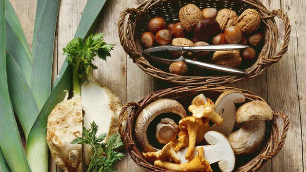 Los frutos secos forman parte de una alimentación saludable. E. E.