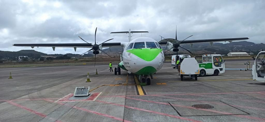 Binter recupera la operativa con La Palma tras cinco días sin vuelos. | Binter Canaria