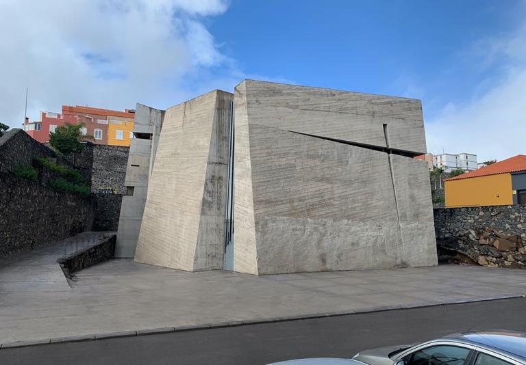 Iglesia del Santísimo Redentor, en Las Chumberas (La Laguna). / FERNANDO MENIS