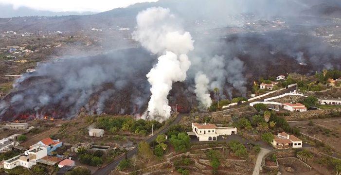 Descartan que el volcán de La Palma provoque lluvia ácida