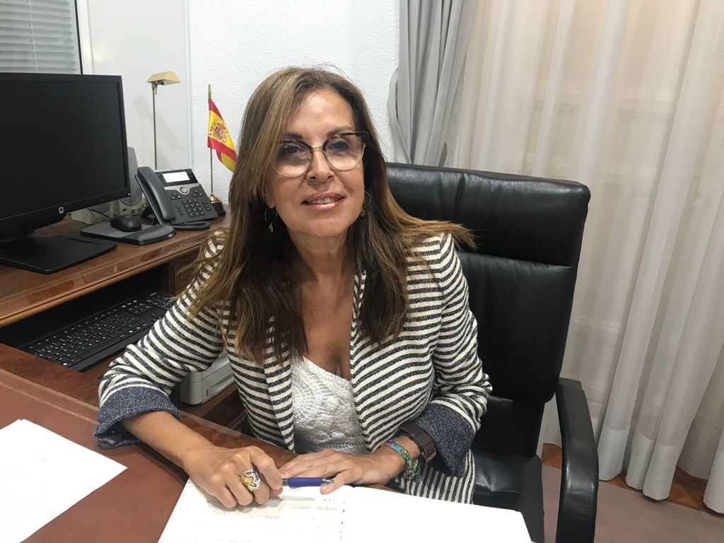Lola Padrón, delegada del Gobierno de Canarias en Madrid. / DA