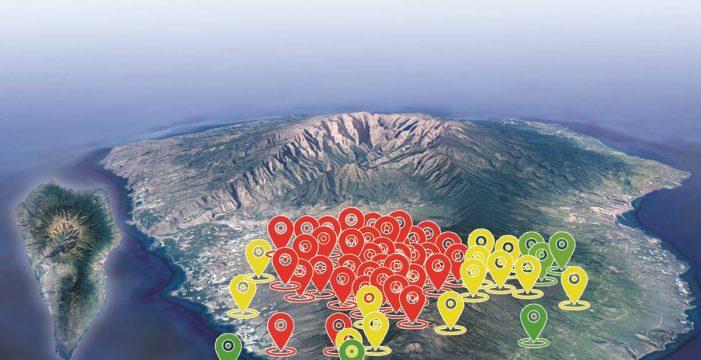Un enjambre sísmico en Cumbre Vieja deja más de 400 temblores