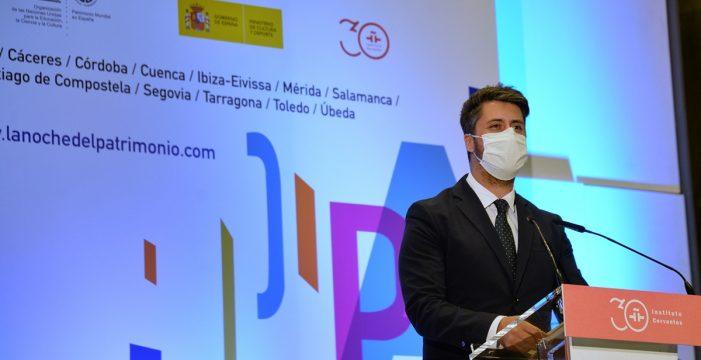 El alcalde de La Laguna presenta en Madrid el programa de La Noche del Patrimonio