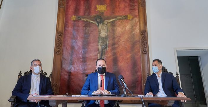 Los principales actos religiosos del Cristo de La Laguna se limitarán al atrio del santuario