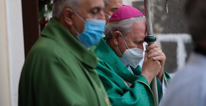 Convocan una oración pública por el volcán de La Palma