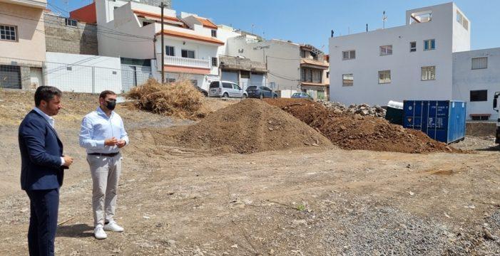 Arranca la construcción de una nueva plaza en La Laguna