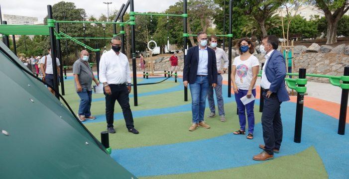 Santa Cruz abre a los vecinos el reformado parque de La Estrella