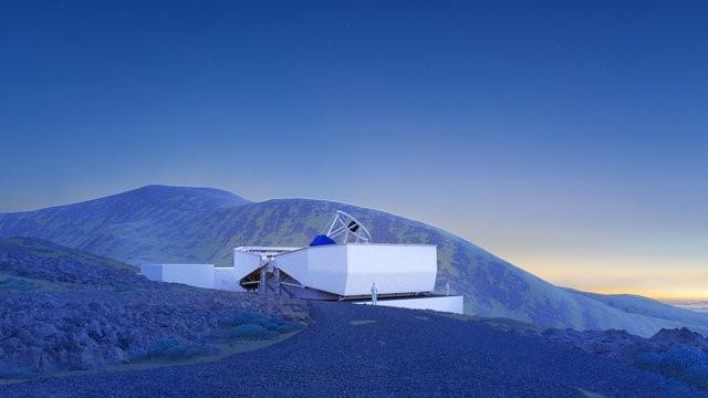 Reino Unido apuntala en La Palma el telescopio robótico más grande del mundo