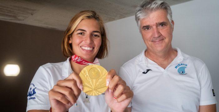 El método Katinka, la clave de Michelle Alonso para lograr el tercer oro paralímpico