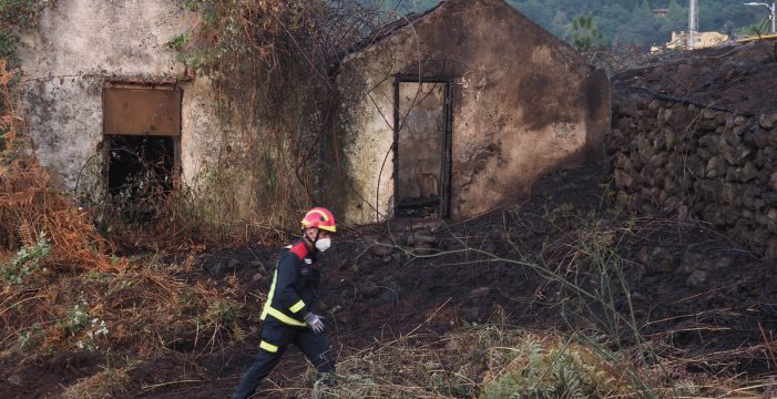 Estabilizado durante la noche el conato de La Orotava tras quemar 7,2 hectáreas