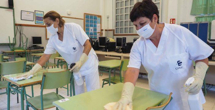 Desinfección y limpieza: los grandes aliados de la vuelta al cole