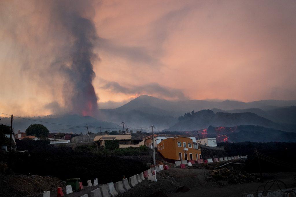 Dañadas 981 edificaciones por el volcán en La Palma. Fran Pallero
