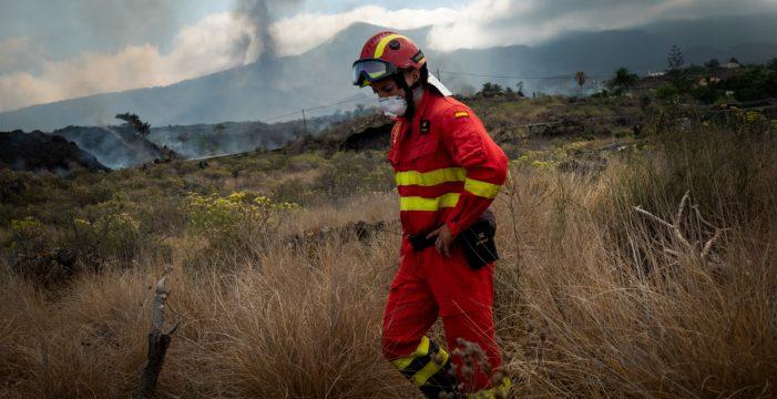 Evacuadas 5.700 personas por la erupción del volcán en La Palma