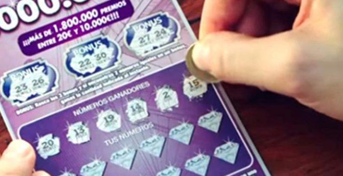 Intenta venir a Canarias tras robar un boleto de lotería premiado con 500.000 euros