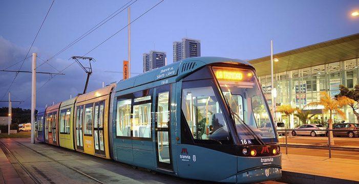 El tranvía de Tenerife reanuda el servicio nocturno