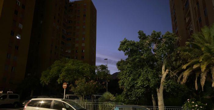 Una avería deja sin luz varias zonas de Santa Cruz