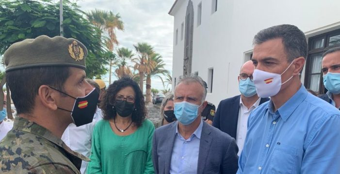 """Ángel Víctor Torres: """"La Palma es zona catastrófica"""""""
