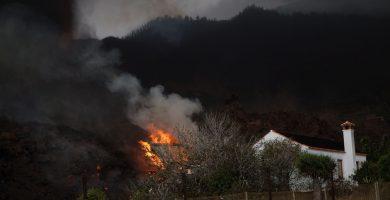 Los gases del volcán de La Palma llegan mañana a El Hierro, La Gomera y Tenerife