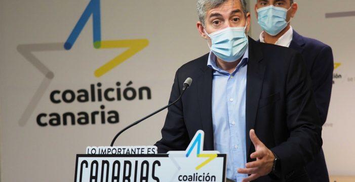 Clavijo tiende la mano al Gobierno para la pospandemia, destaca su buena relación con Torres y se distancia de Fonsalía