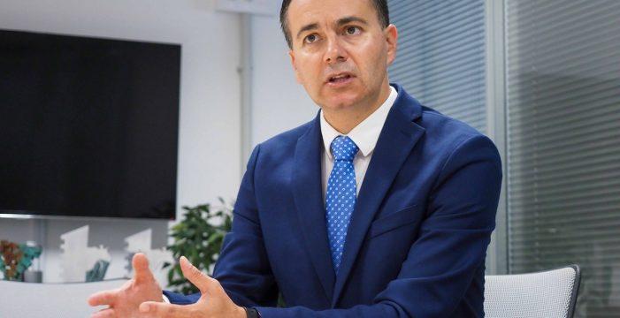 """Héctor Gómez: """"Hay quien está interesado en desdibujar el compromiso que tiene el Gobierno de España con Canarias"""""""