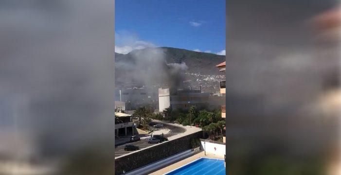 Arde el almacén de un restaurante en Candelaria