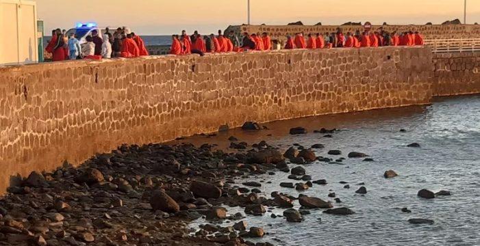 Los migrantes llegados a Canarias en patera este año son más del doble que en 2020