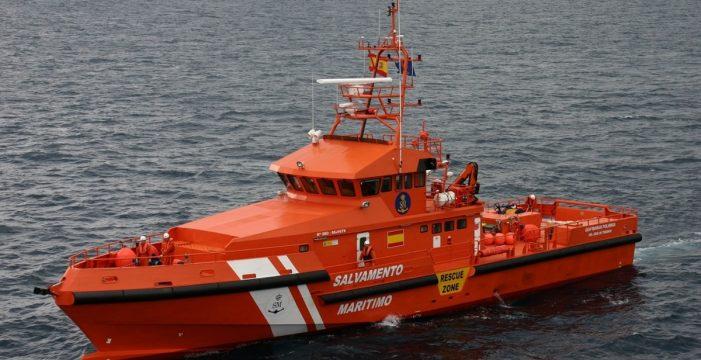 Salvamento Marítimo envía otra Guardamar a Canarias sin la tripulación de refuerzo