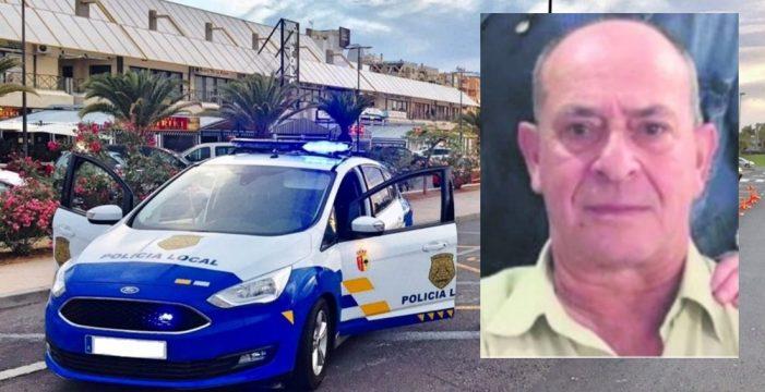 Fallece Paco, uno de los policías locales más populares de Arona