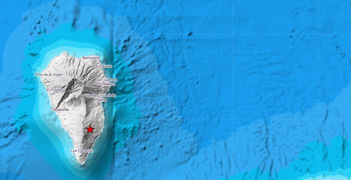 """""""Ha sido bastante fuerte"""": registrado un terremoto de 4.5 este martes en La Palma"""