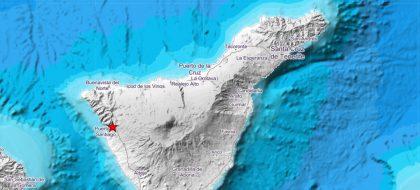El IGN corrige el dato del seísmo de 4.1: fue en La Palma y no en Tenerife