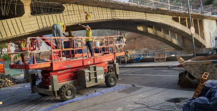 El puente de San Andrés se cierra desde el lunes a los peatones