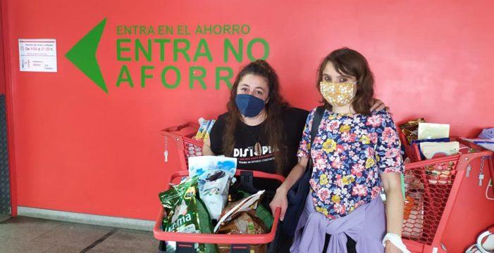 Las donaciones de la ONG gallega llegan a La Palma gracias a la mediación de Binter y Fedepalma