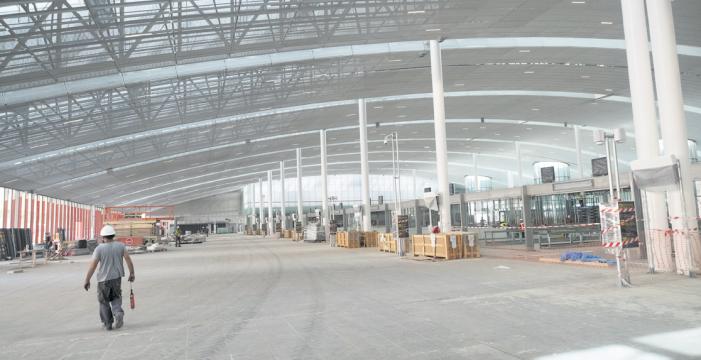 La terminal del aeropuerto Tenerife Sur crecerá el 50% antes de marzo