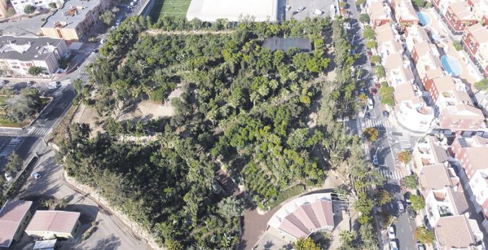 El Parque Central de Adeje, modelo de bosque productivo en las Islas